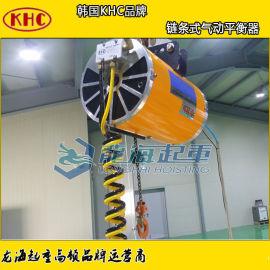 KAB-C100-300链条气动平衡吊,纺织厂防爆