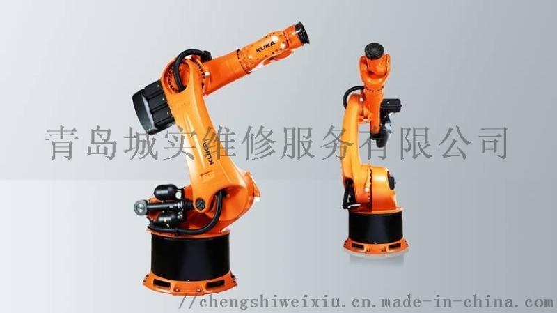 青島ABB工業機器人無法正常進入系統故障維修