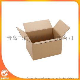 瓦楞纸箱的特点青岛纸箱厂三信包装带您进入纸箱工厂