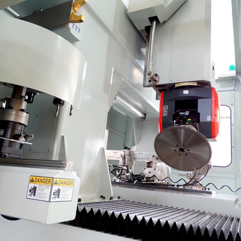 明美數控鋁型材數控加工中心龍門五軸數控鑽銑加工設備