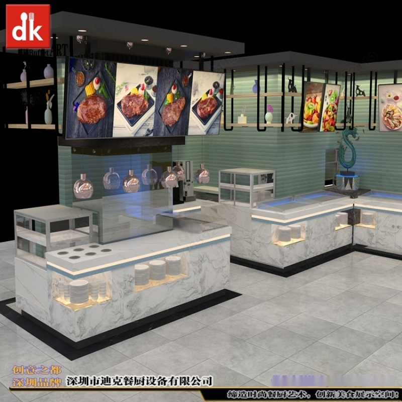 迪克自助餐台 烧烤店 设计定制厂家