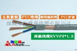 深圳kvv厂家多芯紫铜软屏蔽护套线