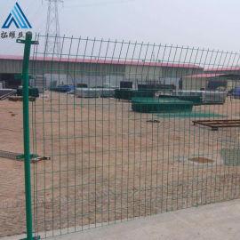 高速浸塑围栏/公路铁丝围栏网