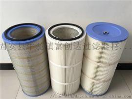 鼓风机纸质空气滤芯 不锈钢滤芯 圆眼冲孔网滤筒