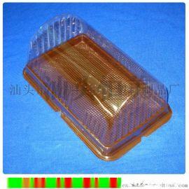 透明盖天地盒 蛋糕糕点面包卷塑料盒