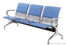 广东不锈钢连排椅、公共座椅、 三人位不锈钢机场椅