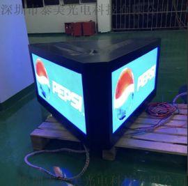 p3  显示屏 三面显示车顶屏幕 led移动车载屏