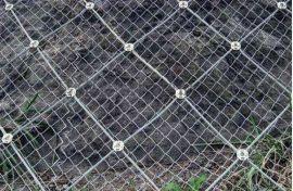 蜘蛛边坡防护网施工 主动防护网施工