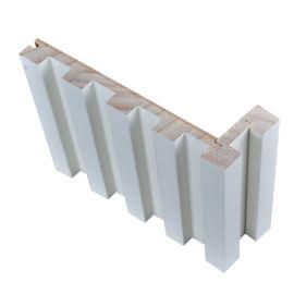 实木格栅长城板 免漆实木格栅长城板背景墙特价