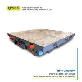 车间平板车 电机低压轨道转运平板车 移动载货平台