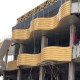 商業街牆身造型鋁單板 外牆造型鋁單板優點