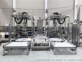 1000升吨箱果蔬汁无菌灌装线包装机械