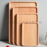 工厂直销榉木长方形 茶盘实木