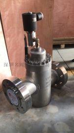 DN125的大口径的进口法兰式不锈钢高压电磁阀