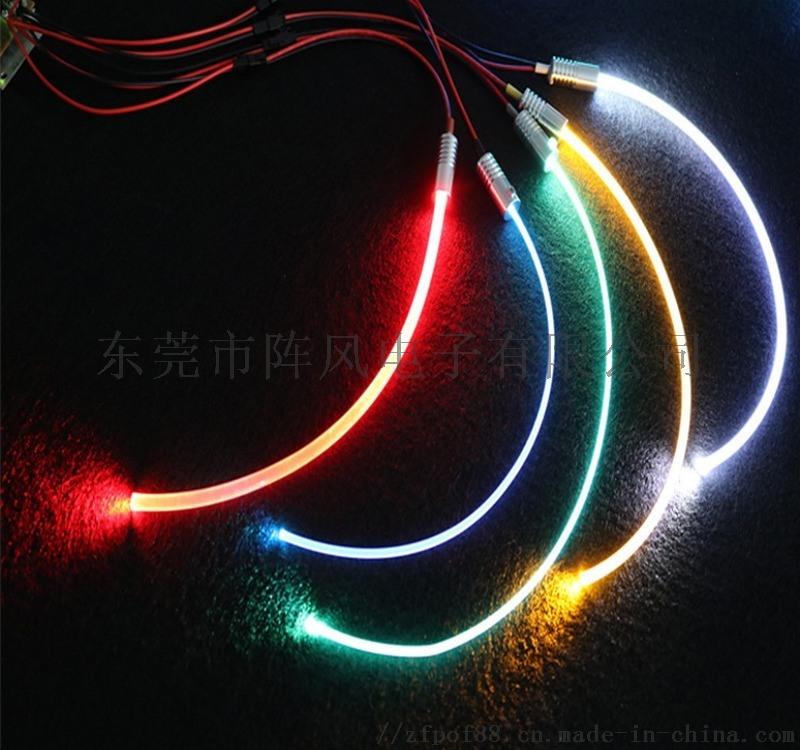 汽车光纤氛围灯,免穿线64色