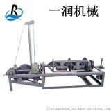 PE模擬藤條制繩機 廢紙膜打包繩制繩機