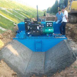 现浇式混凝土渠道成型机 河北全自动水渠成型机