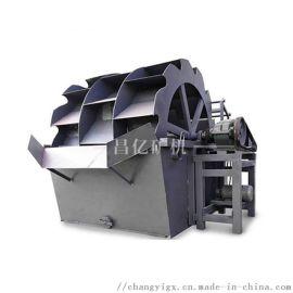沙场风化砂人工沙XS高效轮斗式洗砂机设备生产厂家