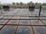 江西南昌SW大模組地上式消防箱泵一體化安裝完成