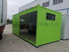 住人集装箱活动板房出租出售厂家门卫厕所批发