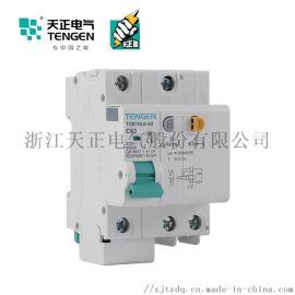 天正电气 空气开关 TGB1NLE-63 1P+N C 40A. 50A. 63A   30mA-300mA 微型漏电保护断路器