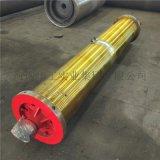 標準軸捲筒組板鉤捲筒400×1500大齒輪滾筒定製