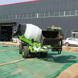 多款混泥土自上料搅拌车 6方水泥搅拌车罐车