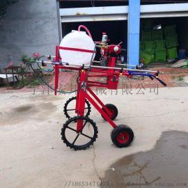 小麦柴油四轮喷杆打药机@武清小麦柴油四轮喷杆打药机