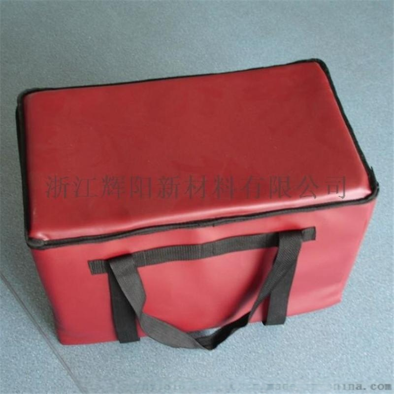 辉阳供应PVC夹网布,500D  213C外卖箱用 手袋用