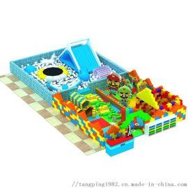 新型儿童乐园淘气堡蹦床积木城堡造型