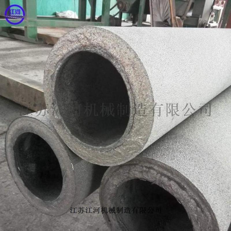 山東耐磨管道雙金屬複合管材江蘇雙金屬複合管江河機械