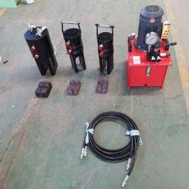 全自动钢筋液压机 冷挤压机钢筋直螺纹滚丝机