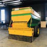 路面布灰機 牽引式石灰布灰機 修路工程石灰布灰機