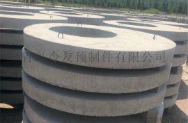 青岛水泥井筒预制混凝土井圈混凝土检查盖板厂家