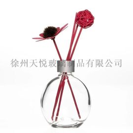 新产品150毫升平圆液体玻璃瓶,空气清新剂空玻璃车