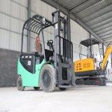 现货供应2.5吨升高3米四轮全电动堆高车 平衡重式叉车