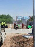 柴油電啓動自走式打藥機,農作物防蟲害打藥機
