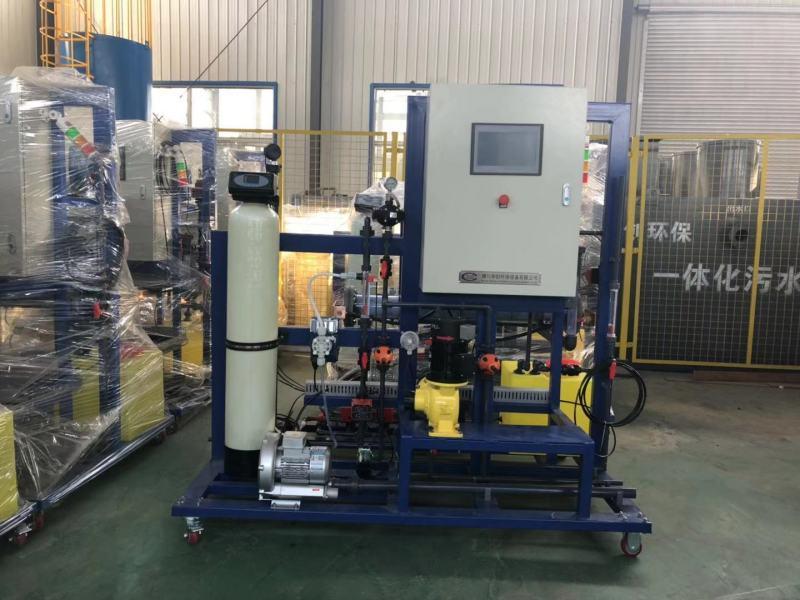 河北次氯酸鈉發生器應用業績/自來水廠加氯消毒設備
