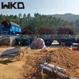 山东轮斗洗砂机质量怎么样 多排轮洗砂机产量