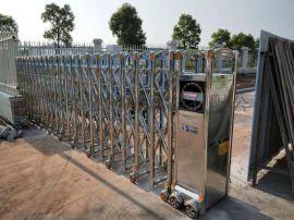 增城伸缩门安装,增城电动门厂家,工地自动闸门