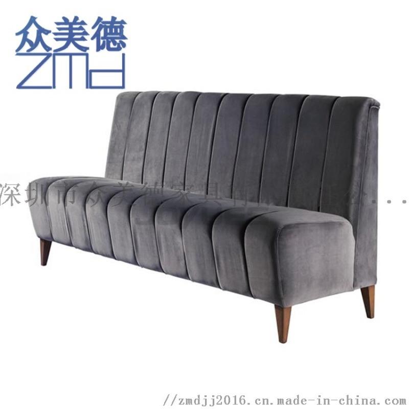 茶餐厅沙发定制,西餐厅卡座沙发,火锅店沙发家具