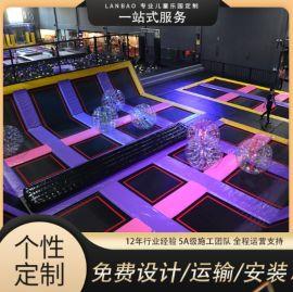 新款大型蹦床公园网红成人蹦蹦床儿童乐园游乐设备厂家