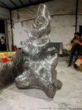 金屬落地雕塑-公園雕塑