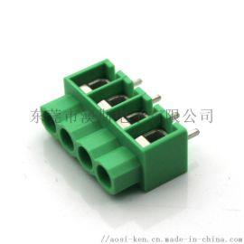 现货供应WJ166绿色弹片式照明用端子台