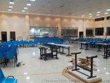 學校 廠家直銷 戶外八位玻璃鋼條凳餐桌組合
