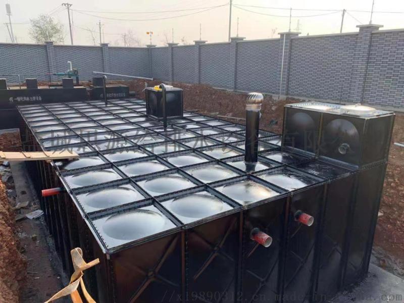 定制产销装配抗浮式箱泵一体化消防水箱