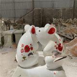 春节卡通吉祥物雕塑 佛山新年卡通雕塑