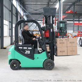 电动叉车直销 捷克 2吨高配电动叉车堆高车