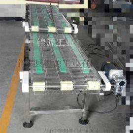 小型食品油炸输送机乙型网带一字网输送带