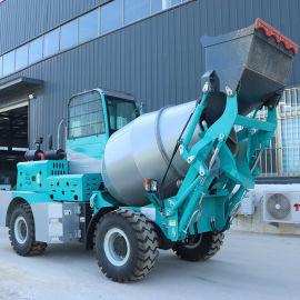 混凝土搅拌车 小型自上料水泥运输车 多功能搅拌机
